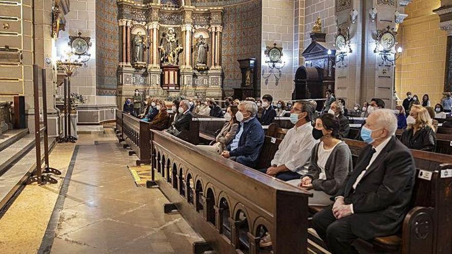 Funeral por Cecilia García-Morán, la madre del presidente del Tenis
