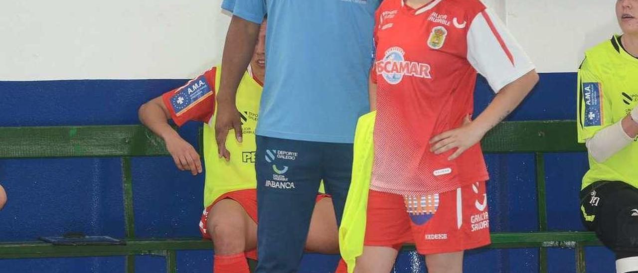 Ale de Paz y Marcio Santos serán parte del equipo rojillo en la campaña 2017-2018. // Rafa Vázquez