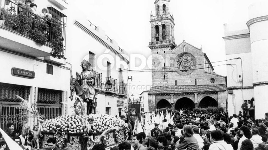 Domingo de Ramos en el recuerdo