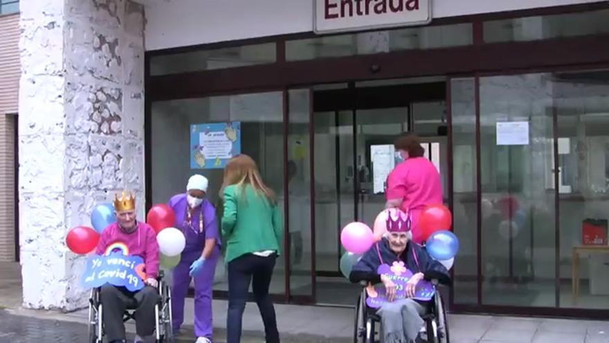 Una mujer de 103 años supera el coronavirus en Cáceres