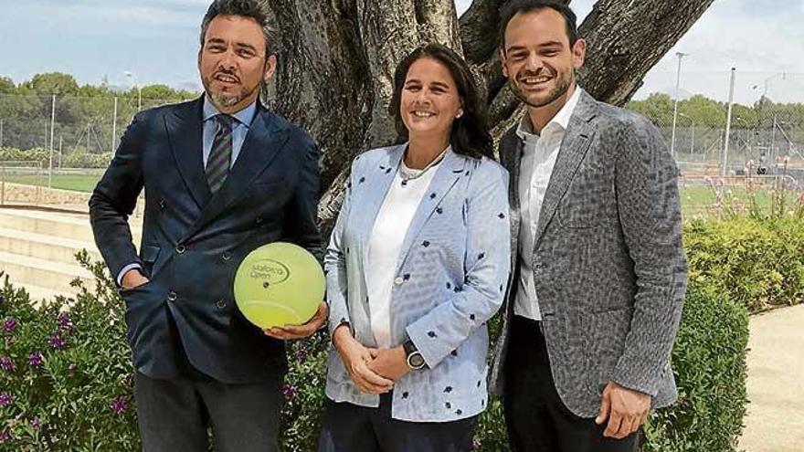 """Conchita considera """"espectacular"""" el cartel del Mallorca Open"""