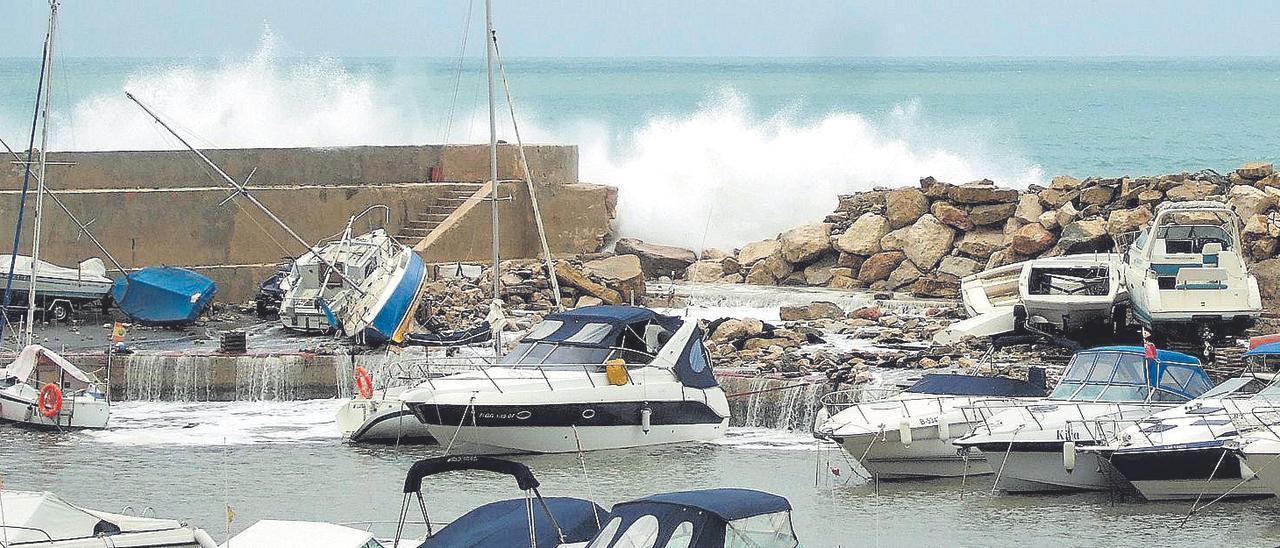 La firma de la marina de Santa Pola reconstruirá el puerto deportivo de Calp
