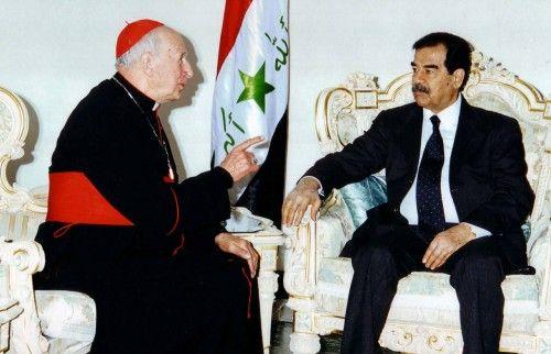 Sadam Hussein no permitió el viaje de Juan Pablo II