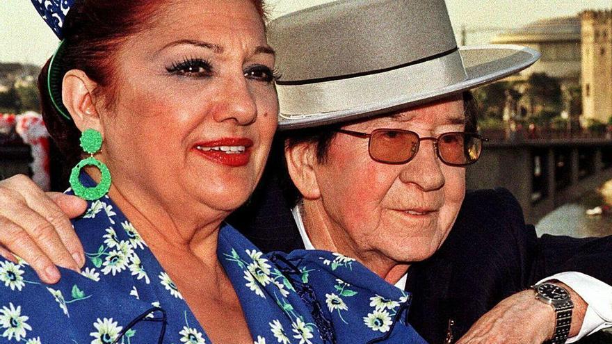 Adiós a Dolores Abril, estrella de la copla y pareja de Valderrama