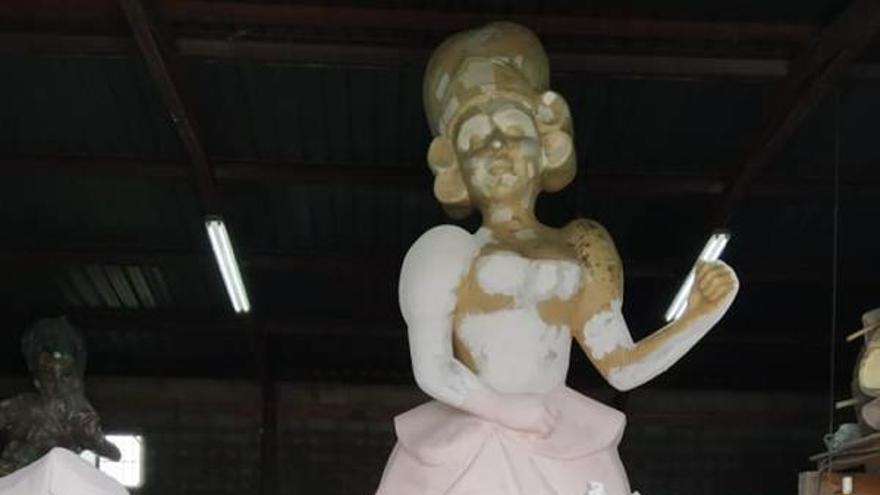 Las fallas llegan por primera vez a cuatro pueblos de La Ribera