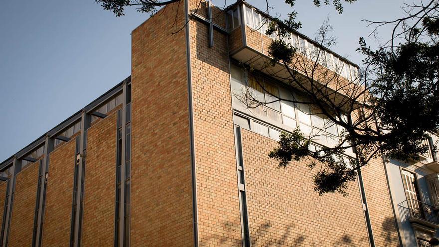 La iglesia de Stella Maris es distinguida como edificio paradigmático de la arquitectura moderna