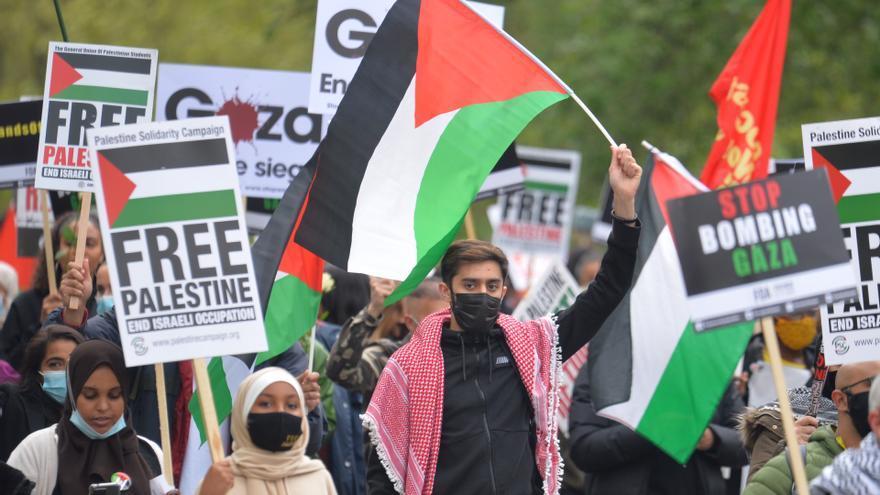 Varias manifestaciones en diversas capitales europeas piden el fin de la violencia en Gaza