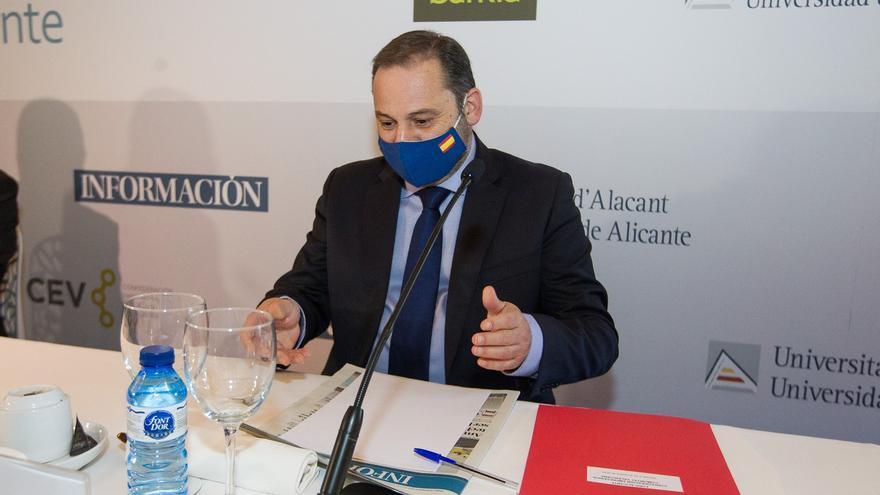 El ministro José Luis Ábalos en el Foro Alicante