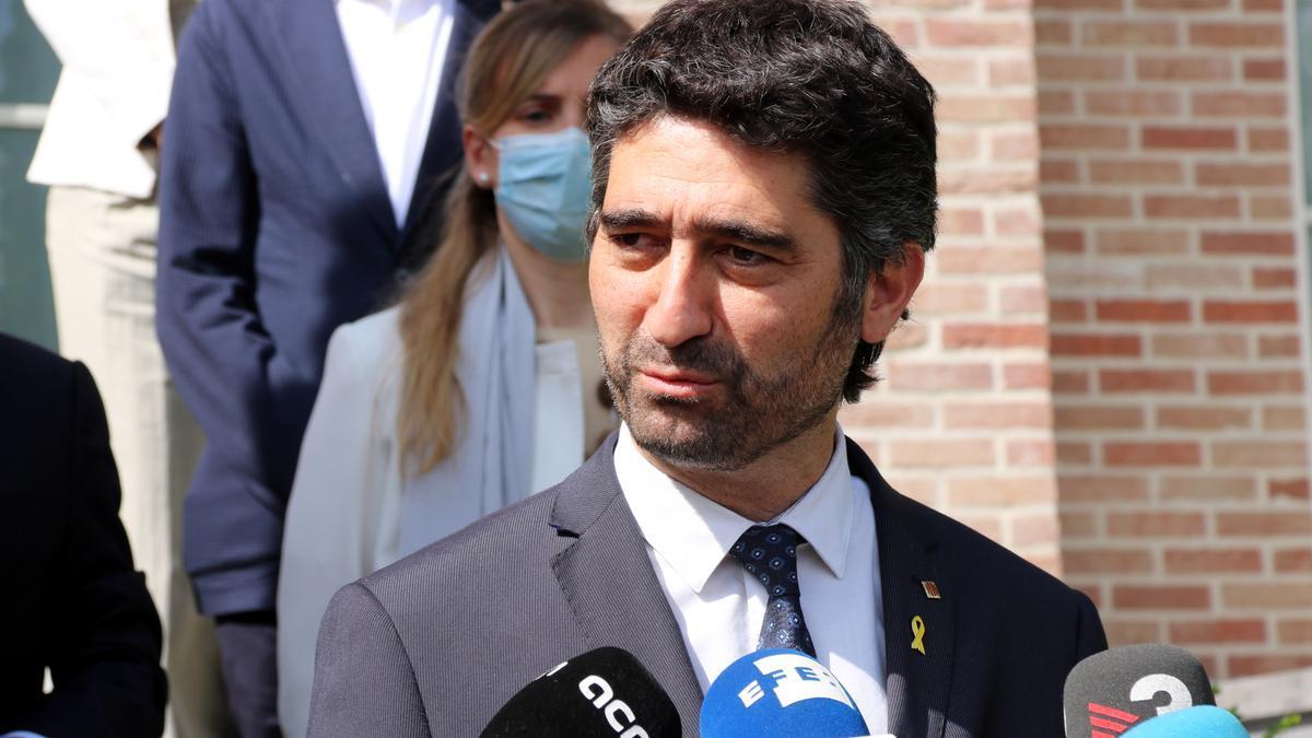 El vicepresident del Govern, Jordi Puigneró