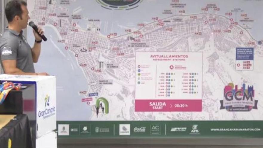 Presentación del Cajasiete Gran Canaria Maratón 2019