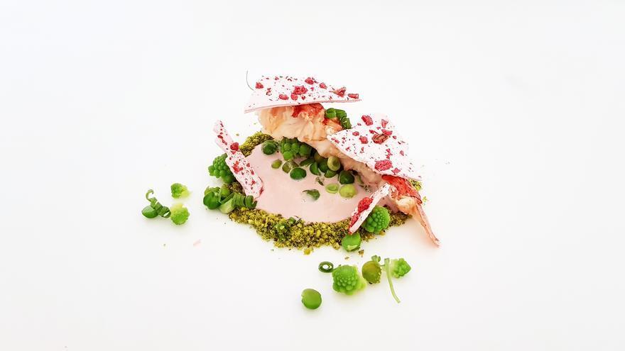 Mujol semicurado a la granada y Bogavante del mollar, recetas finalistas del concurso de cocina creativa