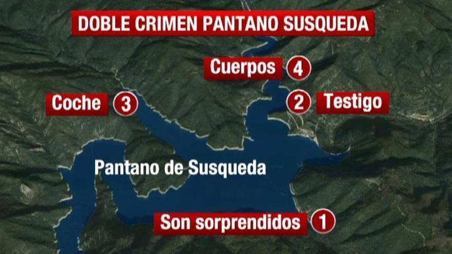 Confirman que los cadáveres de Susqueda pertenecen a los desaparecidos, Marc y Paula