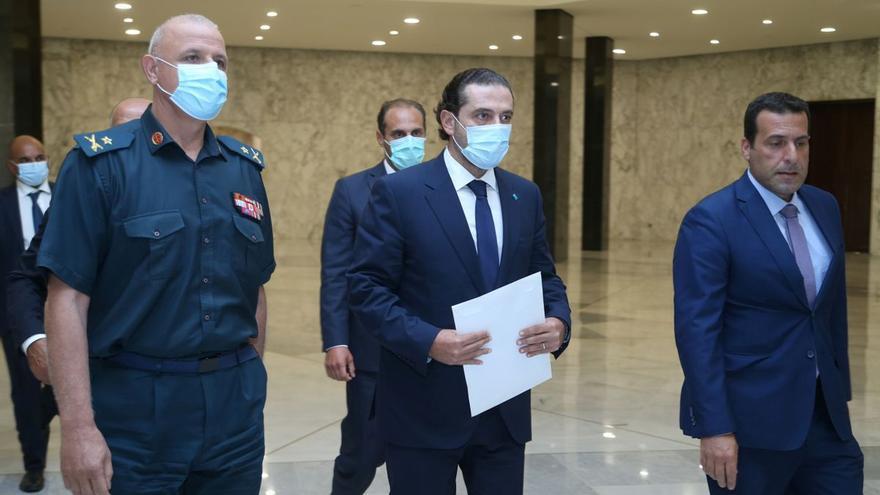 Hariri renuncia a la tarea de formar gobierno en el Líbano