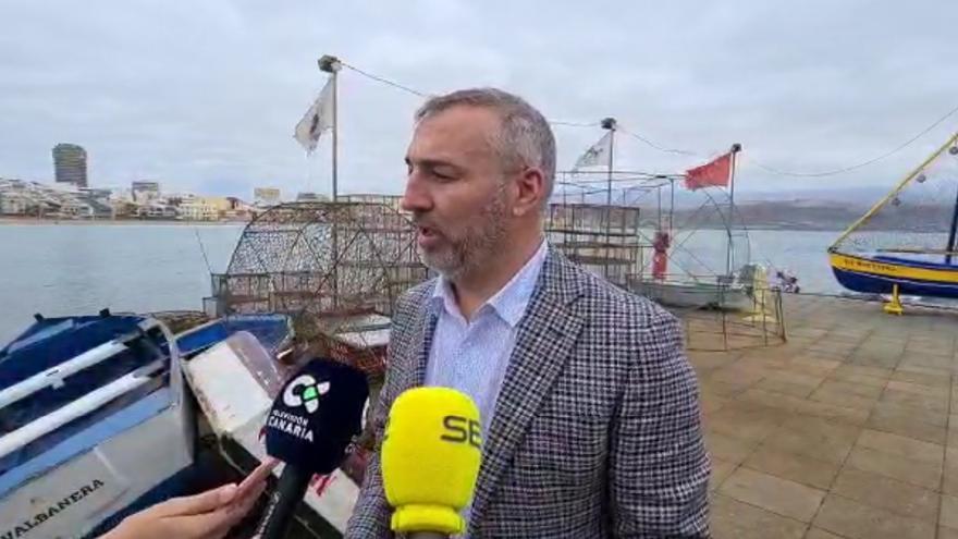 Miguel Ángel Ramírez, presidente de la UD Las Palmas, habla sobre la incorporación de Jesé a los entrenamientos y la posible venta de Araujo al AEK Atenas
