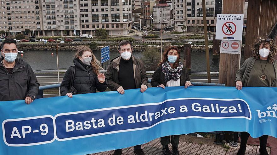 El BNG exige la bajada de los peajes de la AP-9 y su transferencia a Galicia