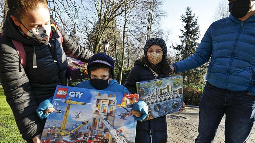 Los niños reconquistan las calles en la mejor mañana del año
