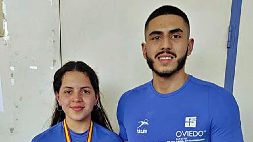 Tres asturianos logran medallas en el campeonato de España junior de halterofilia