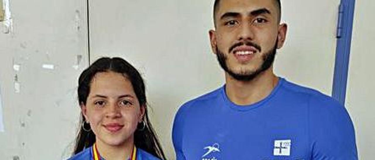 Marta Fernández y Emilio Chávez,