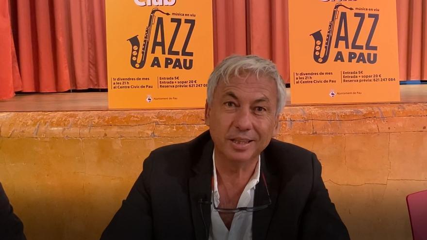Presentació del cicle de concerts de Jazz a Pau