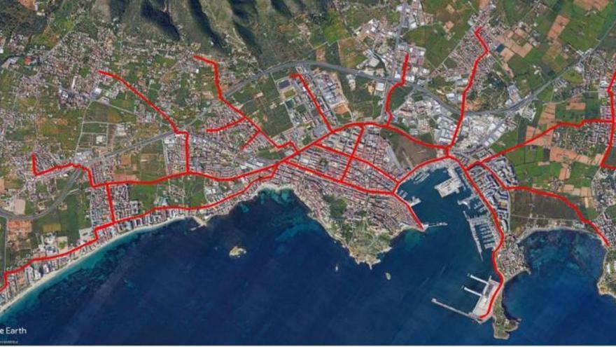 Los «instigadores» de una red de carriles bici efectiva para Ibiza