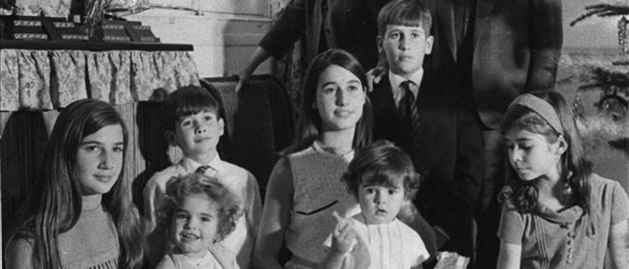 Los nietos de Franco.