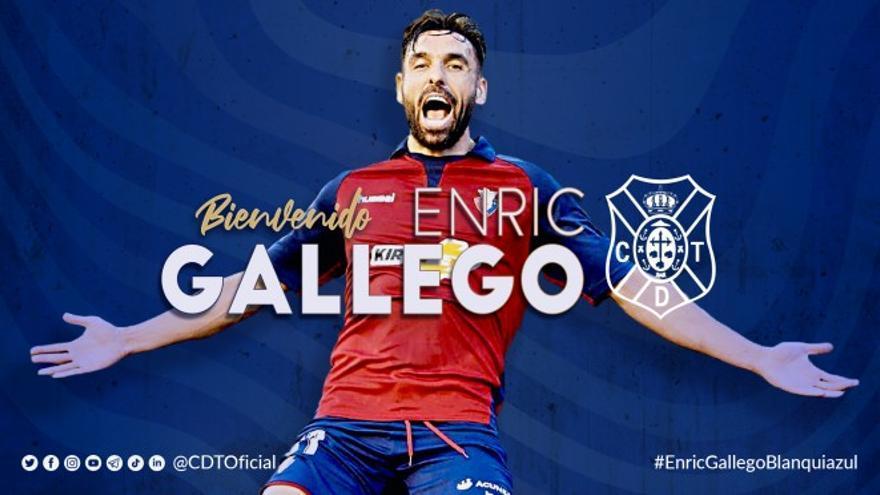 El Tenerife encuentra su delantero goleador