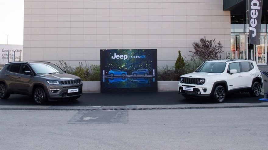 Jeep Renegade 4xe y Compass 4xe, así son los nuevos híbridos enchufables de Jeep