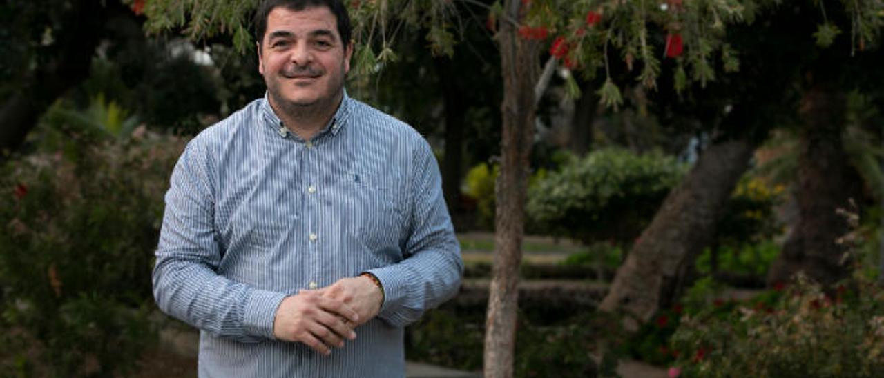 Miqueas Sánchez, presidente de la asociación Edarte.