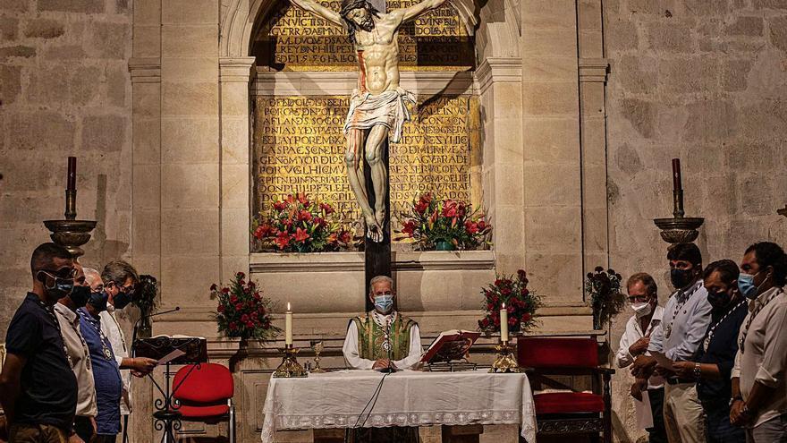 La Cofradía del Silencio celebra el triduo tras un año de parón por COVID
