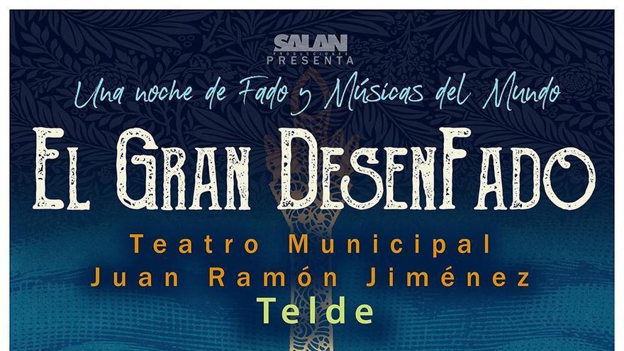 El Fado llega al Teatro Juan Ramón Jiménez con 'El Gran DesenFado'