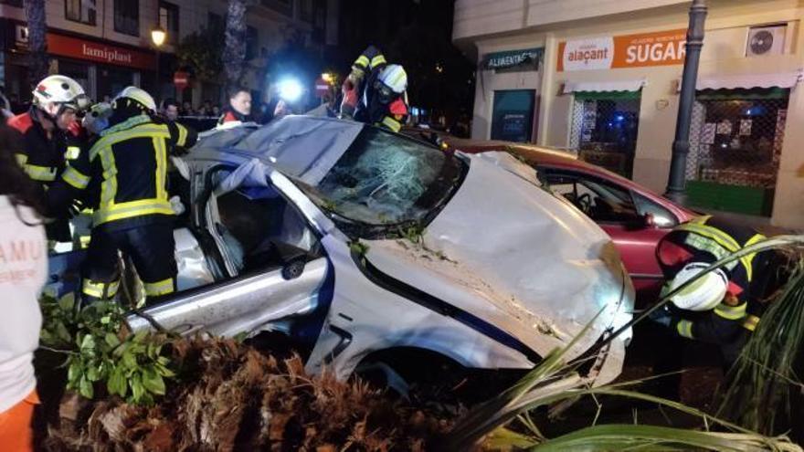 Muere el conductor del BMW que se estrelló a 186 km/h en Valencia