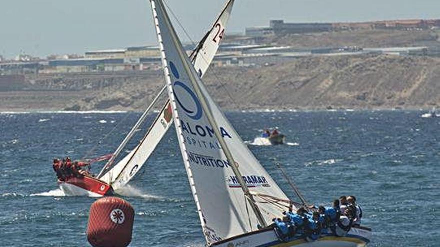 El 'Guanche', contra viento y marea
