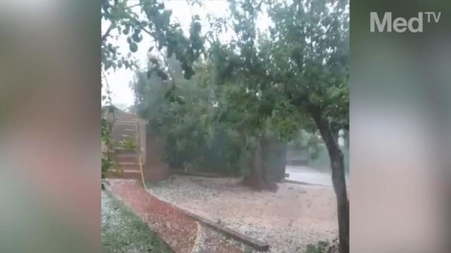 Onda, una de las poblaciones más afectadas por el temporal
