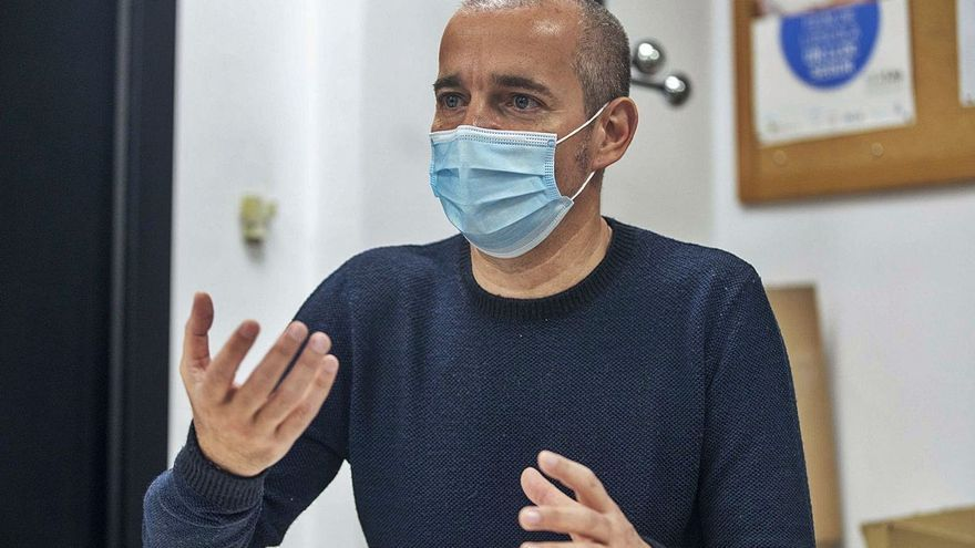 "Oriol Lafau: Los negacionistas de la pandemia son ""delirantes"""