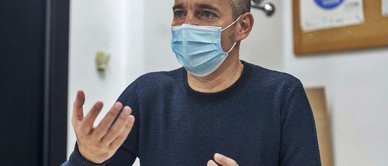 Oriol Lafau, psiquiatra y coordinador de Salud Mental del Govern