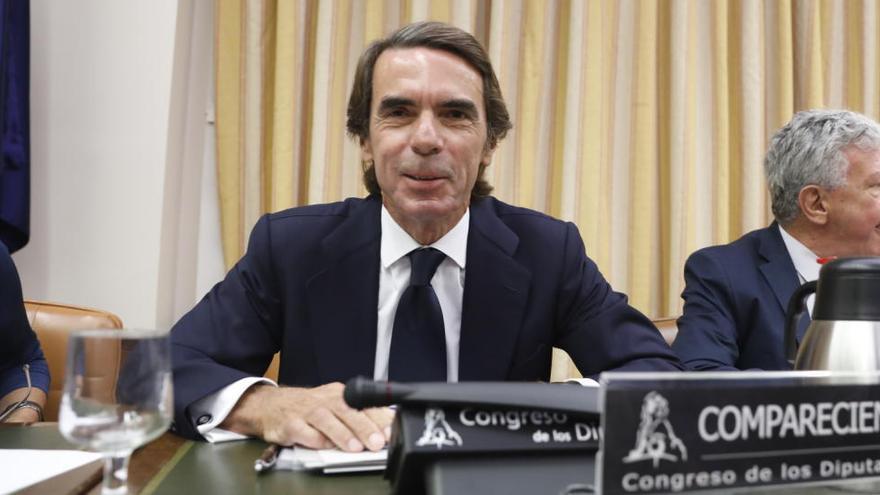 Aznar es desvincula de la Gürtel: «No haig de demanar perdó per res»