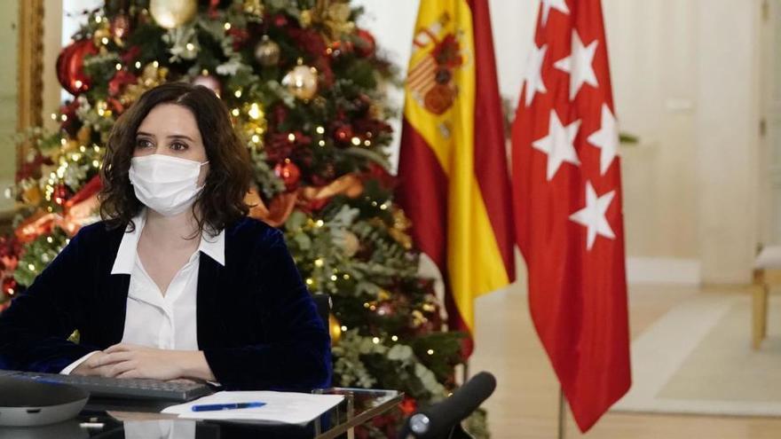"""Ayuso: """"Hemos sido pioneros en la gestión del virus en España"""""""