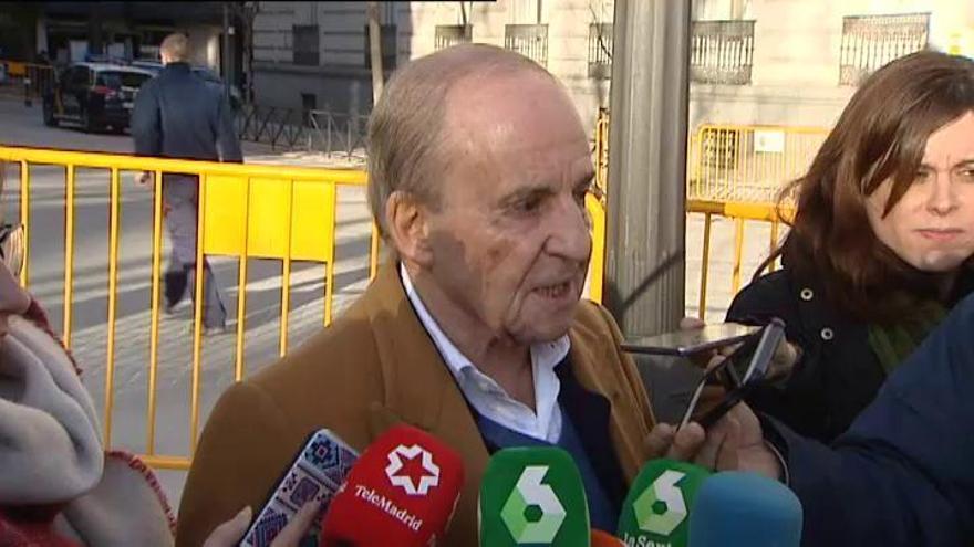 José María García no aclara si se refería a Villar Mir cuando habló de mordidas para el PP