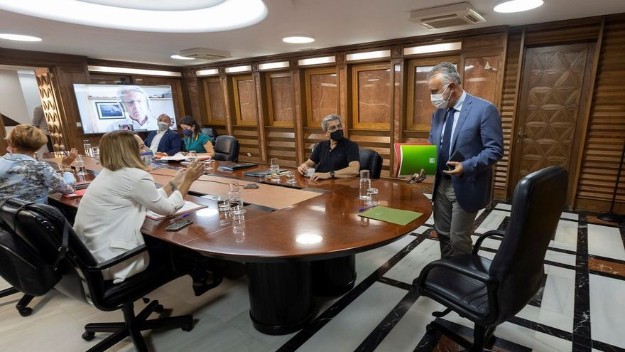 Directo: El Consejo de Gobierno analiza la evolución de la pandemia en Canarias