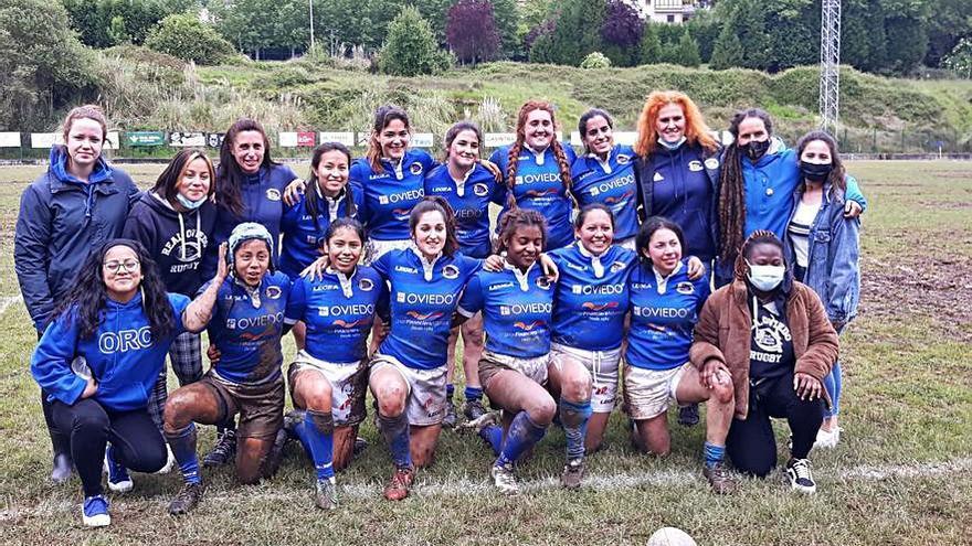 El Real Oviedo femenino gana al Gijón Rugby por 17-5 y se proclama campeón de Asturias