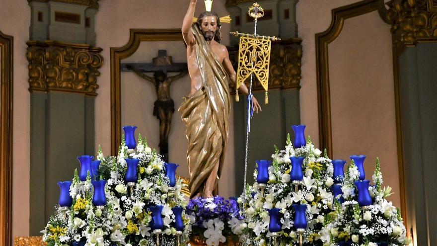 Nuestro Padre Jesús Resucitado invita a visitar las imágenes en el templo estos días
