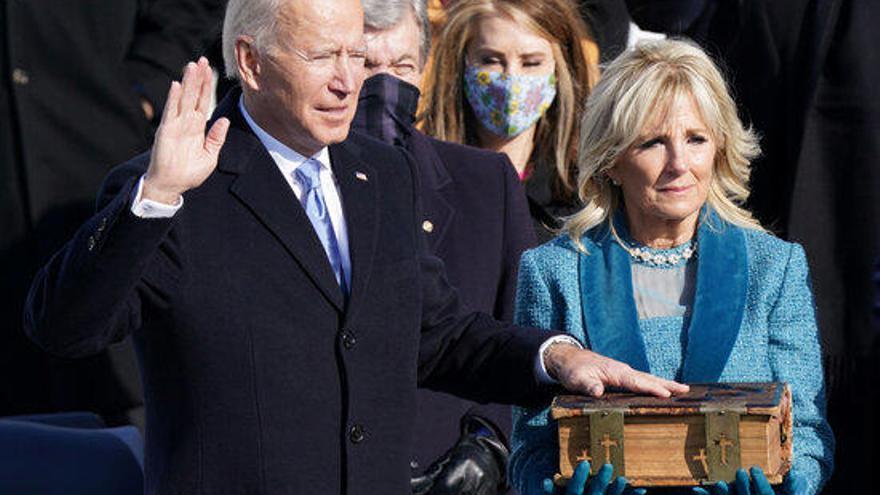Joe Biden pren possessió com a 46è president dels EUA