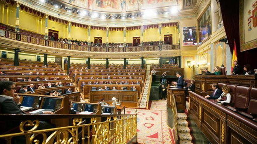 Arriben al Congrés i al Senat els presos independentistes per participar a les sessions de constitució de les cambres