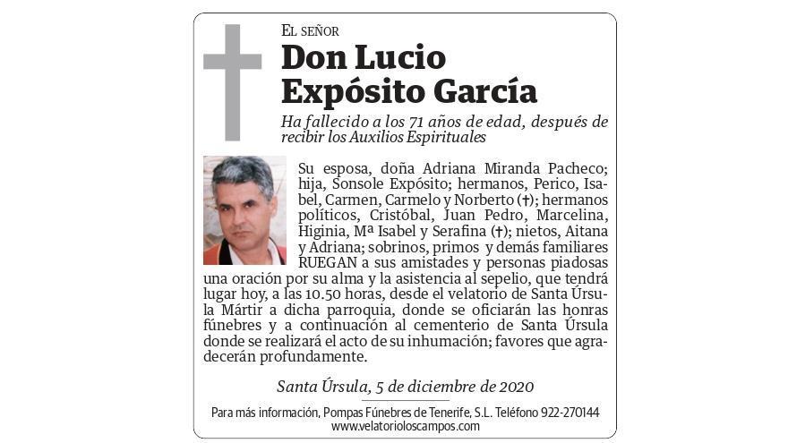 Lucio Expósito García