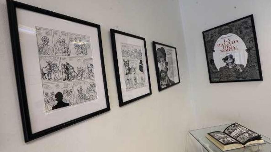 """Falcón muestra los dibujos originales de """"La balada del norte"""", de Alfonso Zapico"""