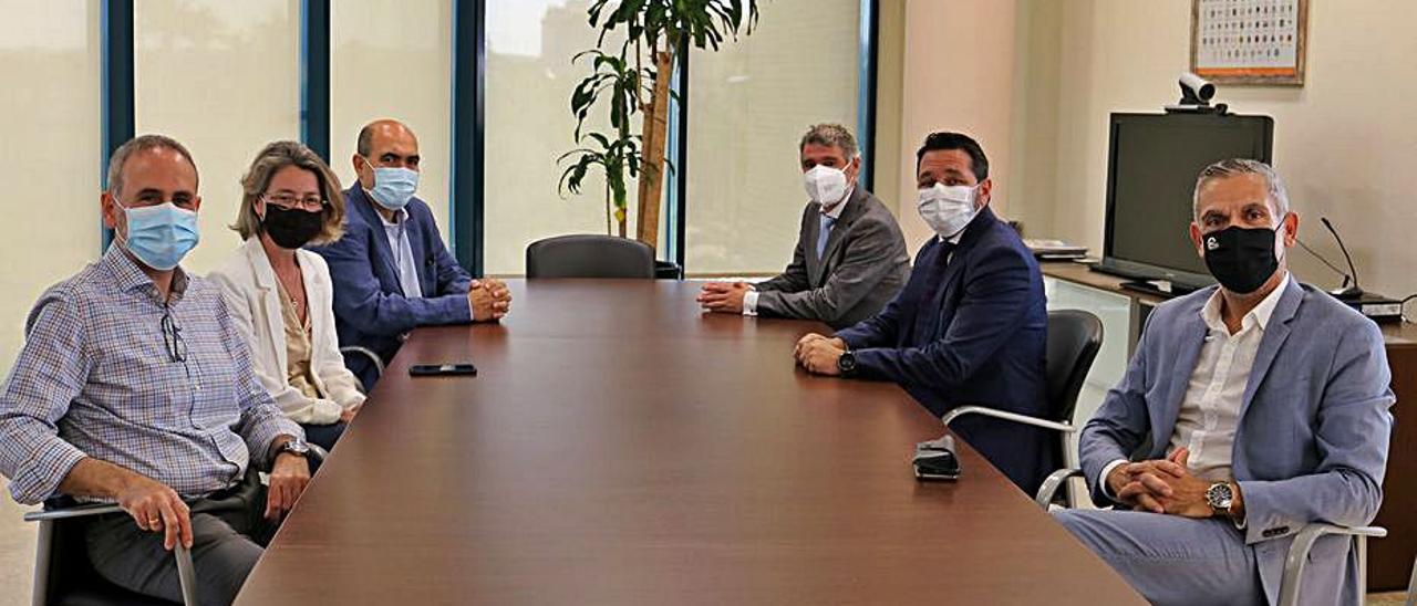 Miembros del consejo asesor de la Cátedra ITEVEBASA.    INFORMACIÓN