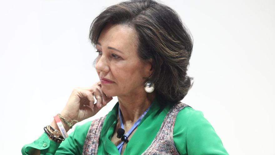 Ana Botín será asesora de la directora del FMI