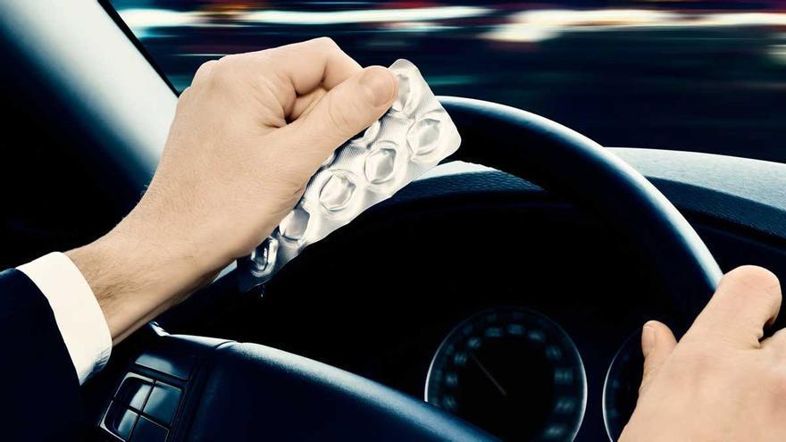 Los medicamentos más comunes que afectan la conducción
