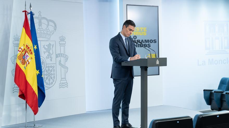 Sánchez avanza que 33 millones de españoles, el 70% de la población, estarán vacunados a finales de agosto