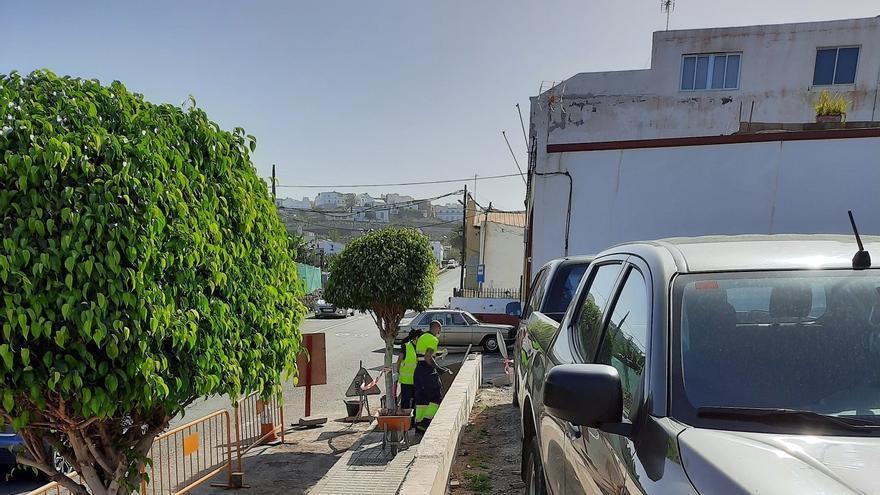 Arucas pavimentará la calle principal de Bañaderos y un aparcamiento